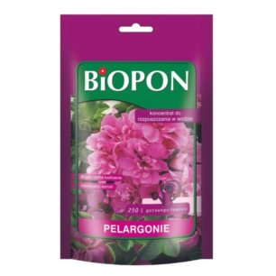 BIOPON-koncen.rozp. do pelargonii 250g