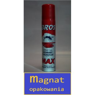 Bros-spray komary,kleszcze MAX130/90 ml
